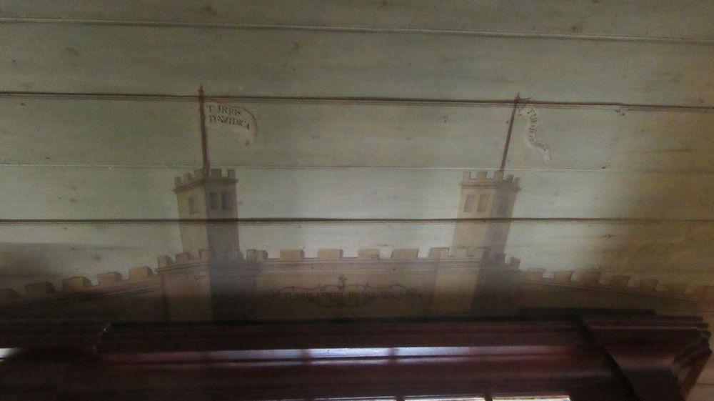 Igreja do Castelo - pintura