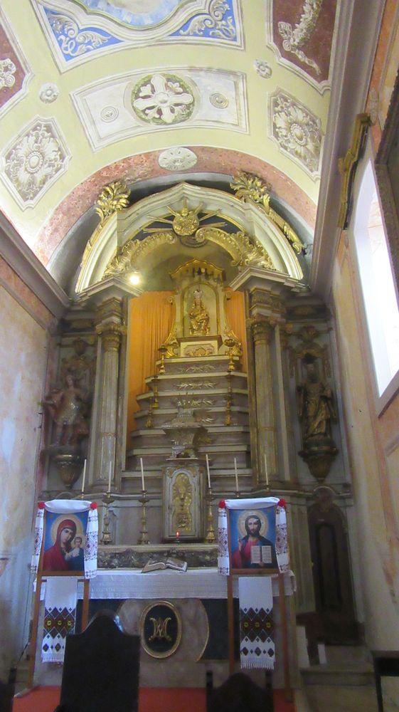Igreja do Castelo - altar-mor