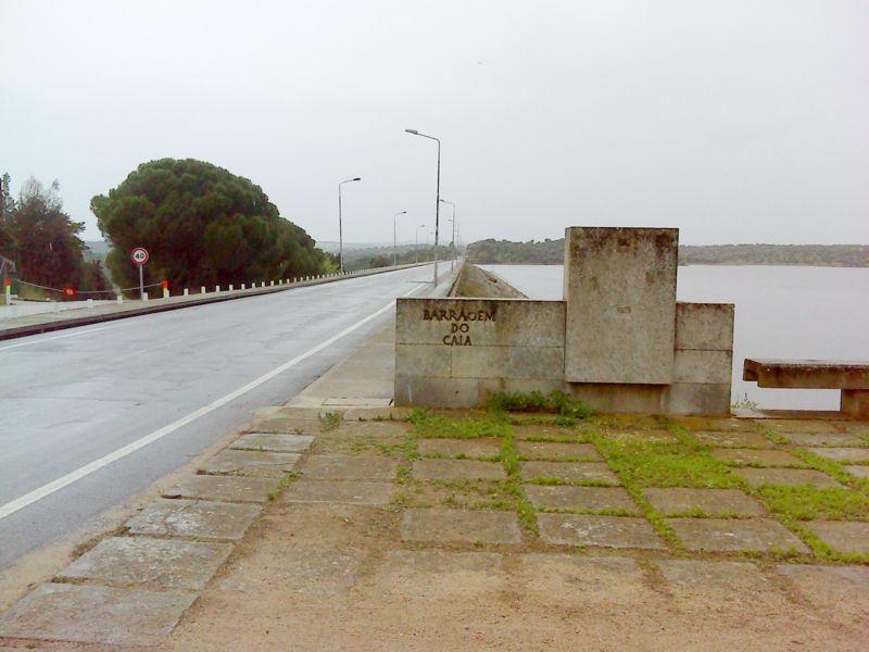 Barragem do rio Caia