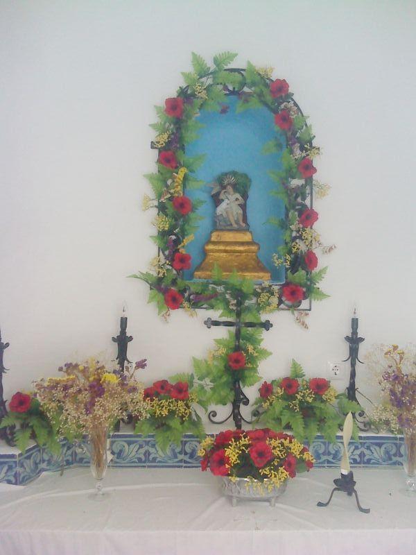 Ermida de S. Joãozinho - altar da capela