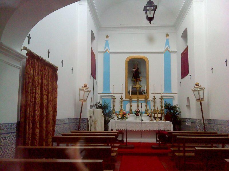 Ermida de S. Joãozinho - interior
