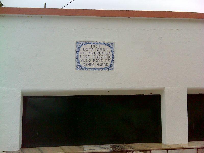 Ermida de S. Joãozinho - oferta