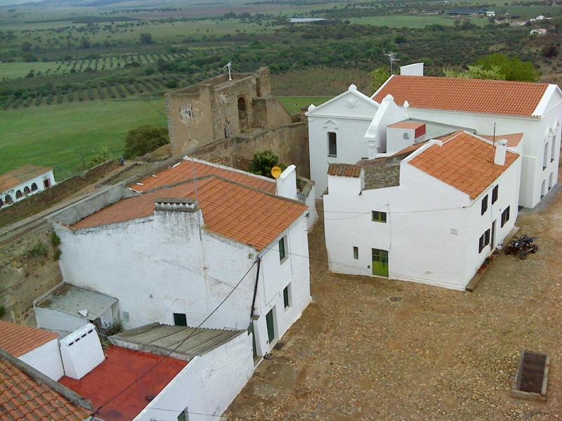 Largo visto do castelo