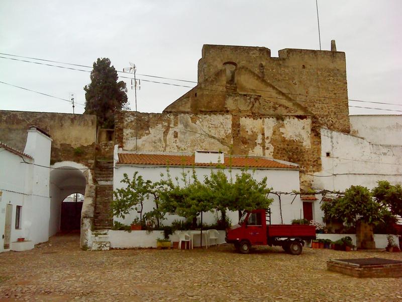 Castelo visto do largo