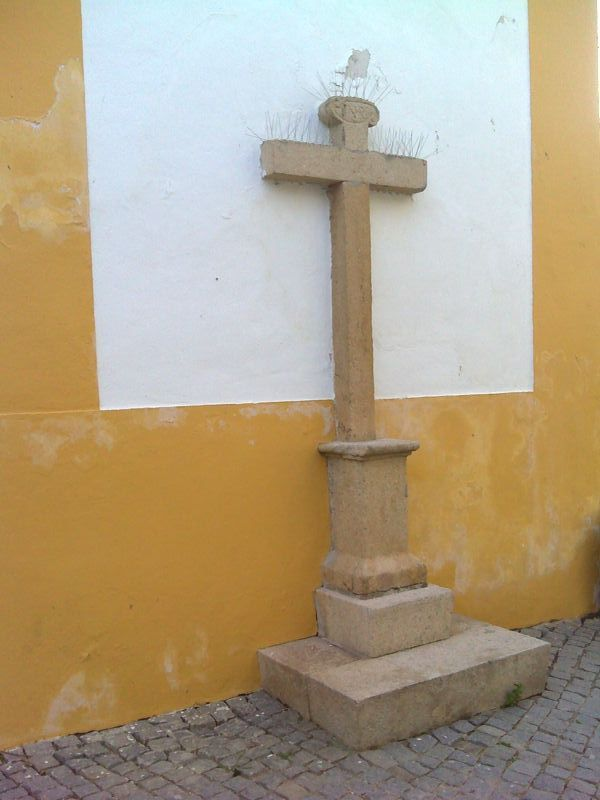 Igreja Matriz de Nisa - cruzeiro