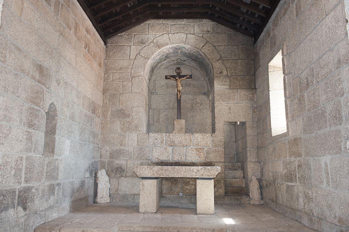 Igreja de Gondar - altar-mor