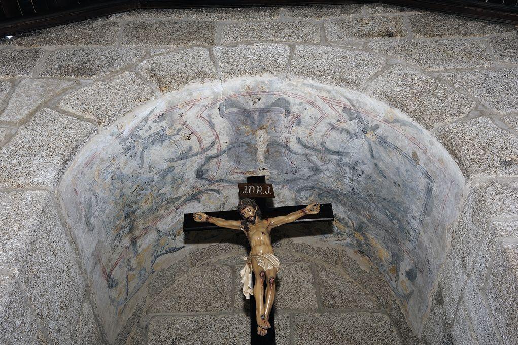 Igreja de Gondar - parede fundeira