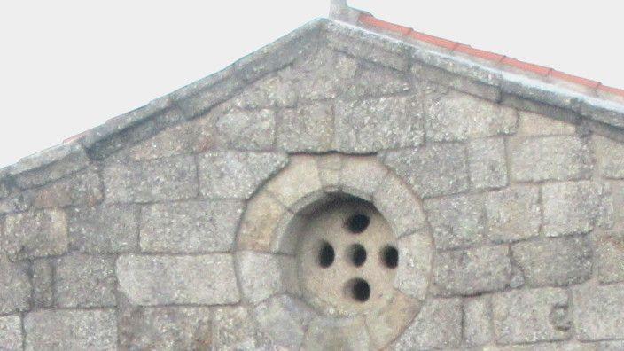 Igreja Santa Maria Gondar - óculo