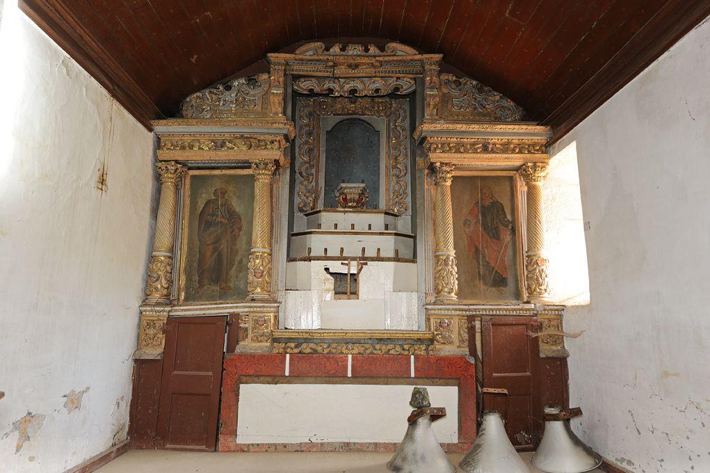 Igreja de Lufrei - altar-mor