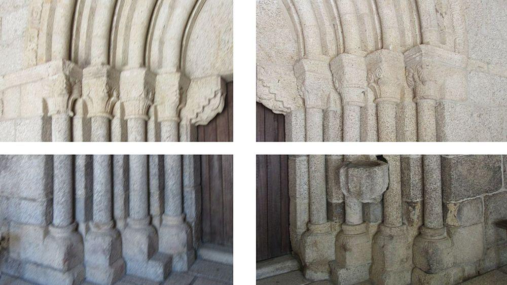 Igreja Matriz - portal - pormenor