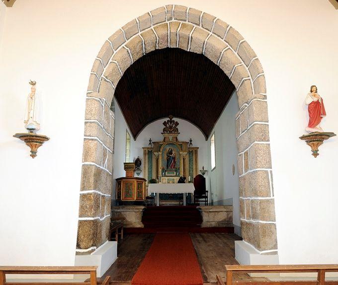 Igreja do Salvador - altar-mor