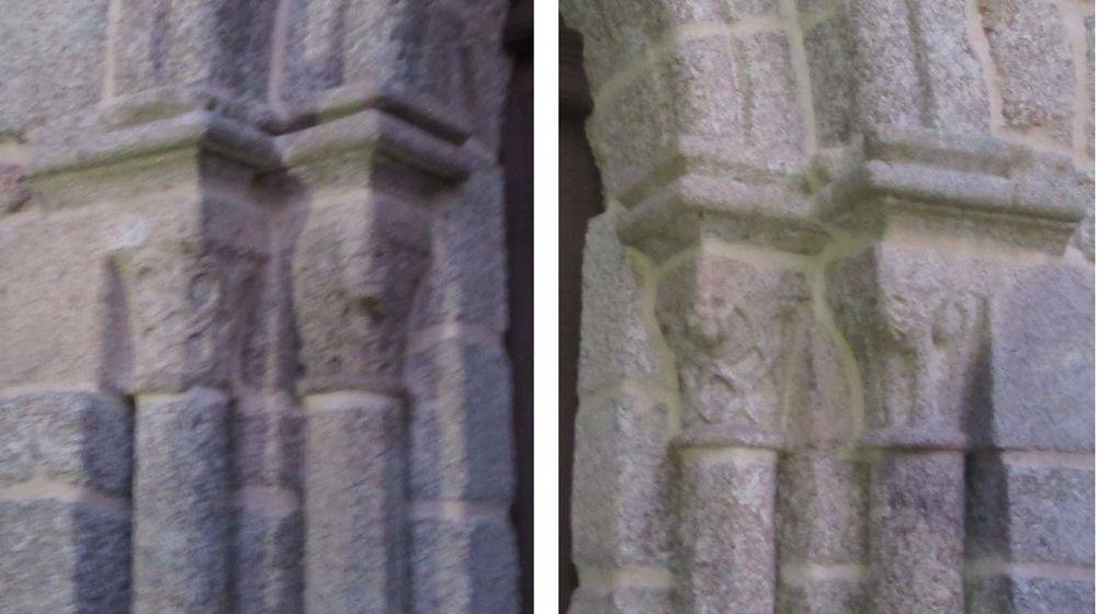 Igreja do Salvador - pormenor das colunas