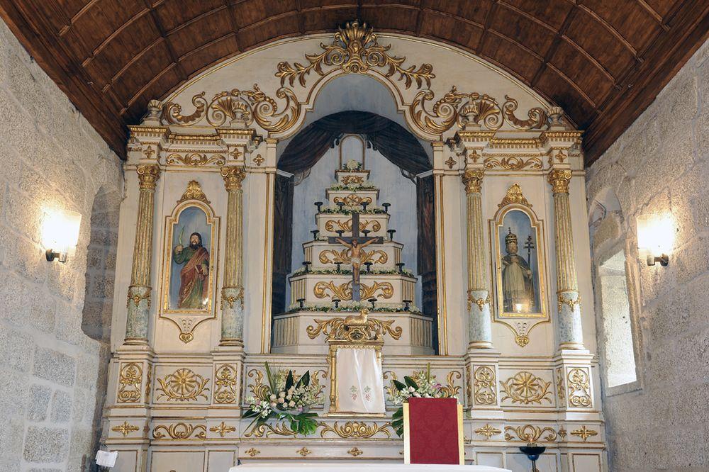 Igreja de Santo André - altar-mor