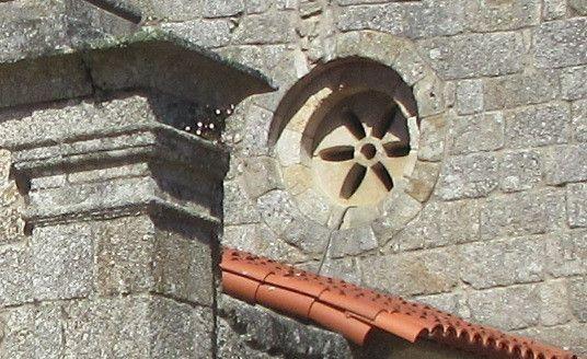 Óculo da fachada principal