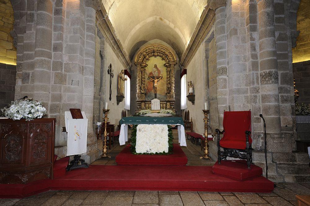 Mosteiro de Travanca - altar-mor