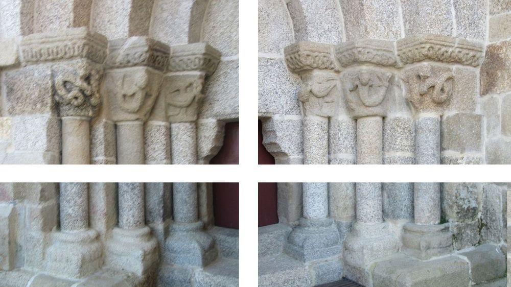 Mosteiro - portal norte