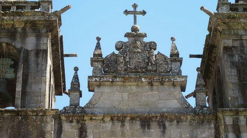 Mosteiro de Pombeiro - fachada