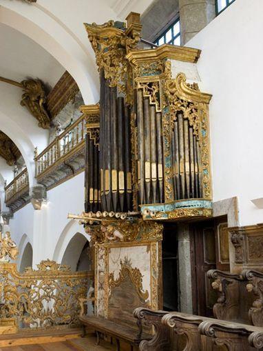 Órgão do Coro Alto