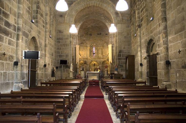 Mosteiro S. Pedro de Ferreira - interior