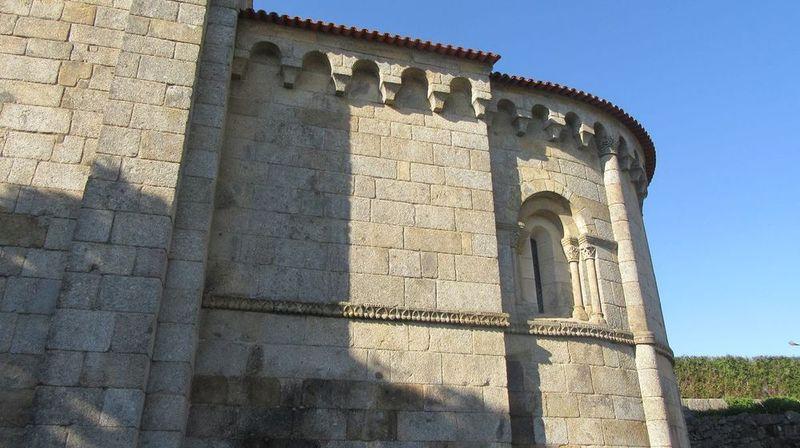 Mosteiro - parte traseira