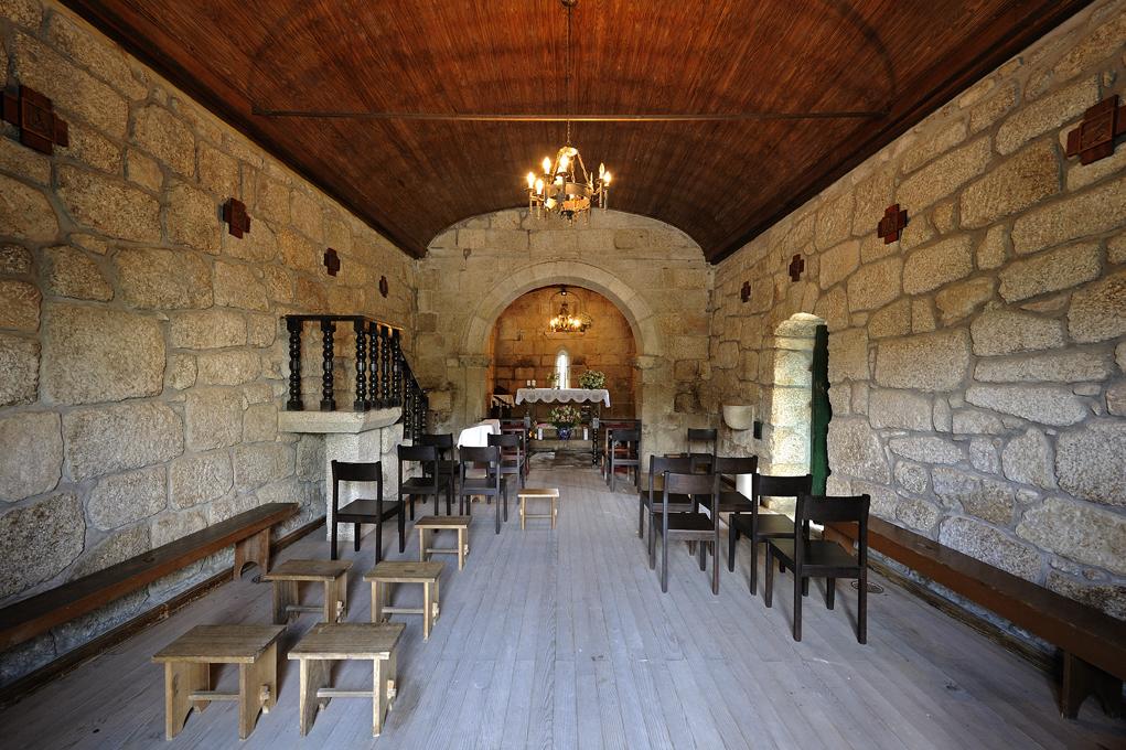 Capela N Sra Quintã - Nave altar-mor