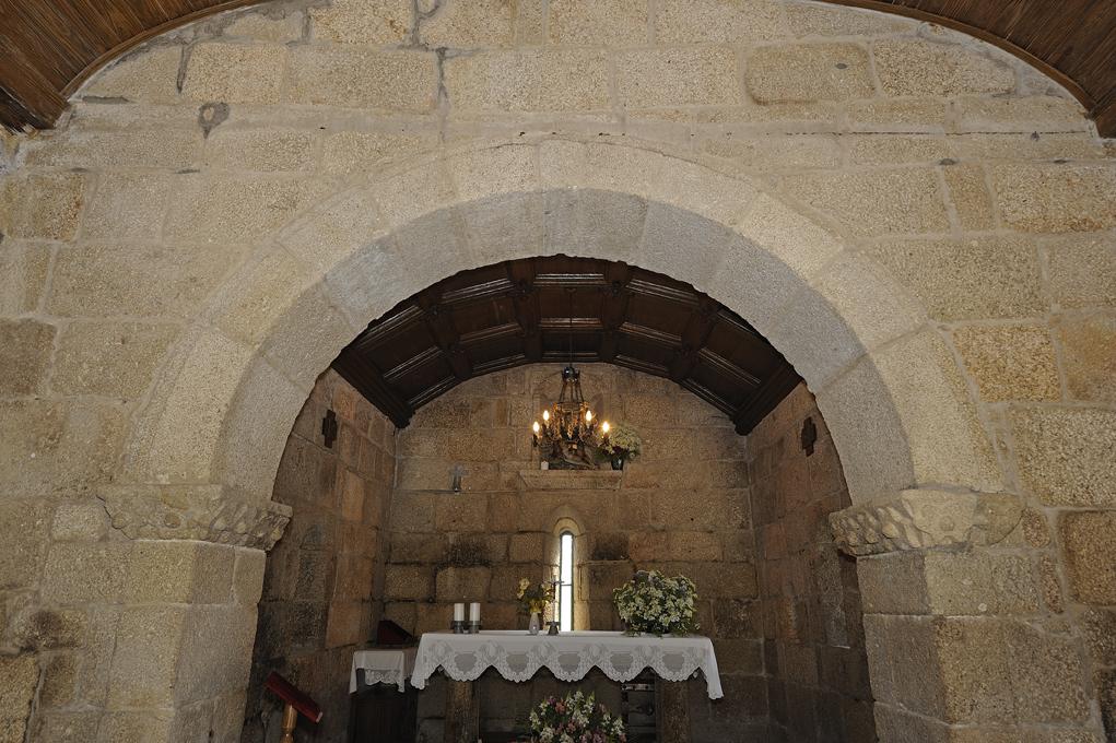 Capela N Sra Quintã - Altar-mor