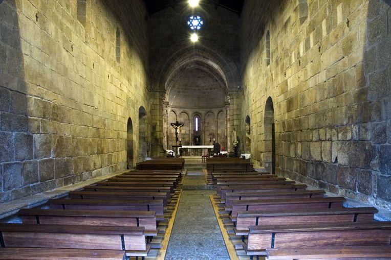 Mosteiro de Cête - Nave