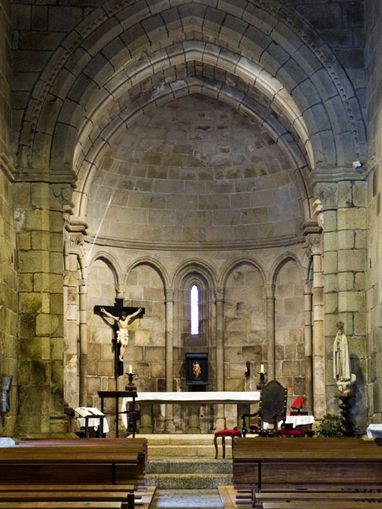 Mosteiro de Cête - Altar-mor