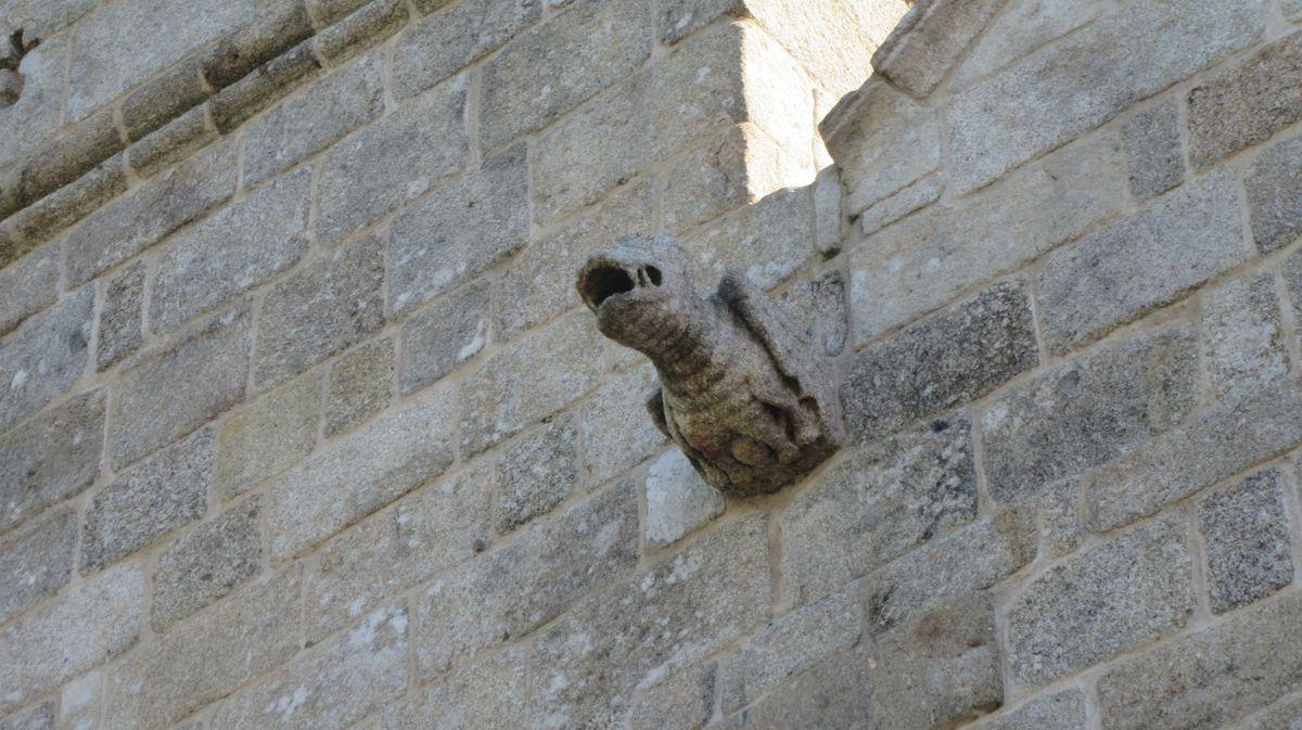 Mosteiro de Cête - gárgulas