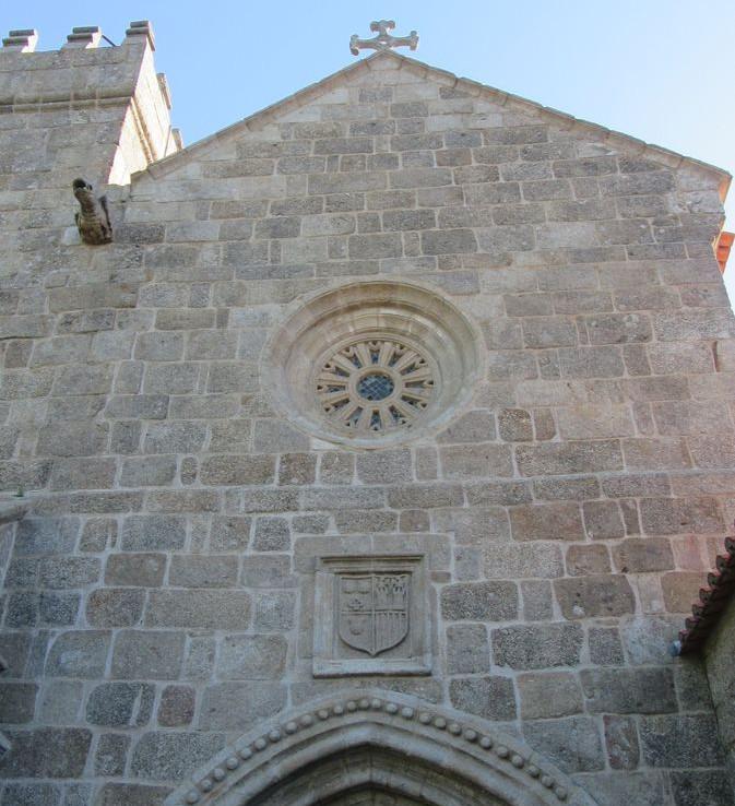 Mosteiro de Cête - fachada