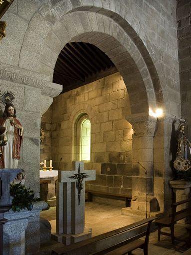 Igreja do Salvador - arco triunfal
