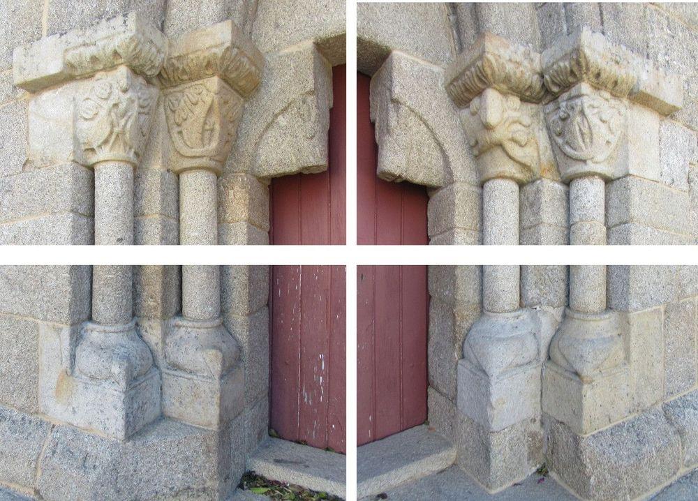 Igreja do Salvador - portal oeste - pormenor