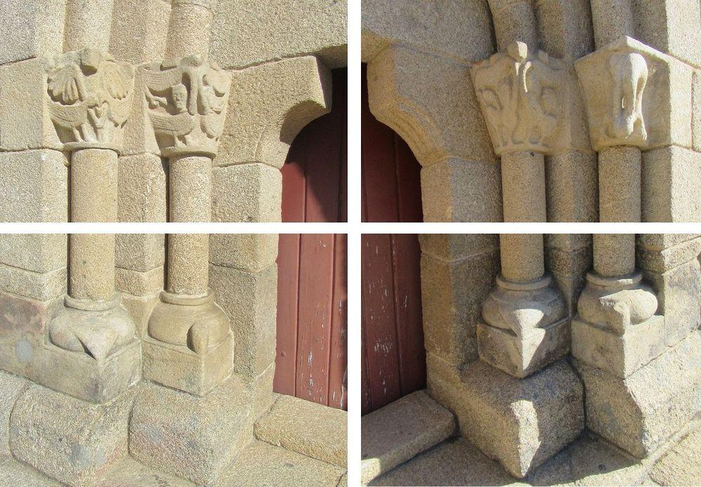 Igreja do Salvador - portal sul - pormenor