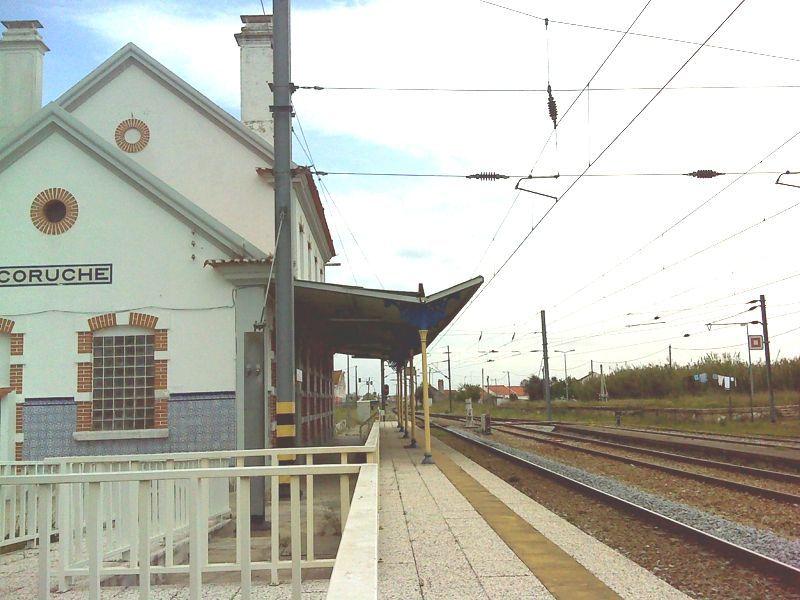 Estação da CP de Coruche - Interior