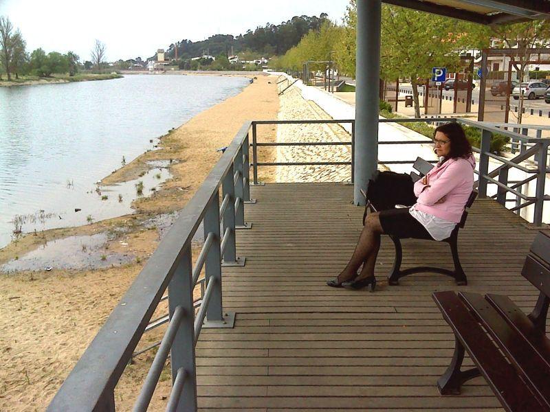 Jardim à beira-rio de Coruche