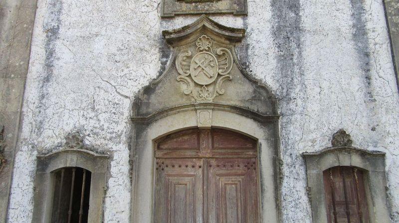 Capela de Santo António do Souto - frontão