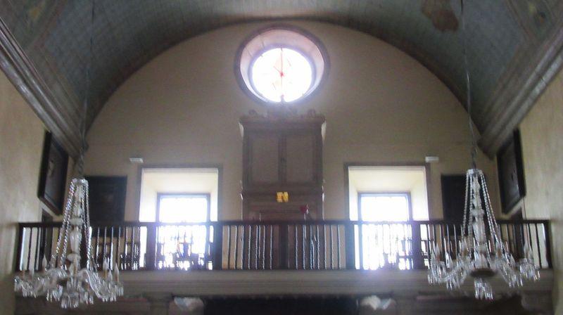 Igreja Matriz - coro e órgão