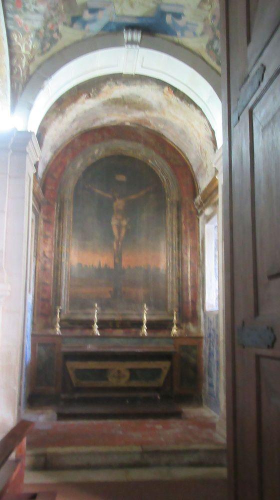 Igreja do Hospital de Jesus Cristo - altar lateral