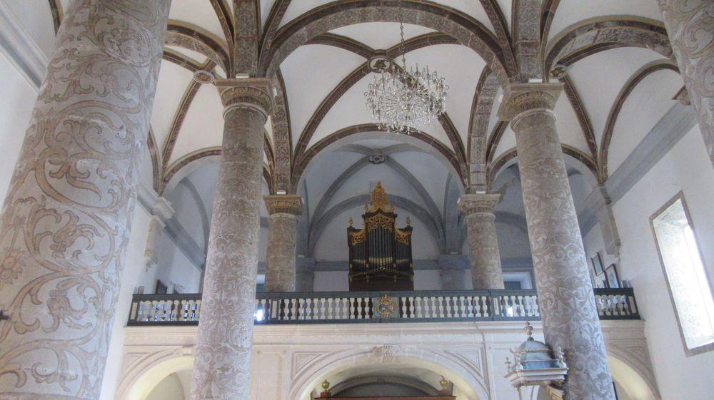 Igreja da Misericórdia - coro e órgão
