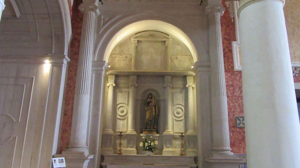 Igreja S M Alcáçova - altar lateral