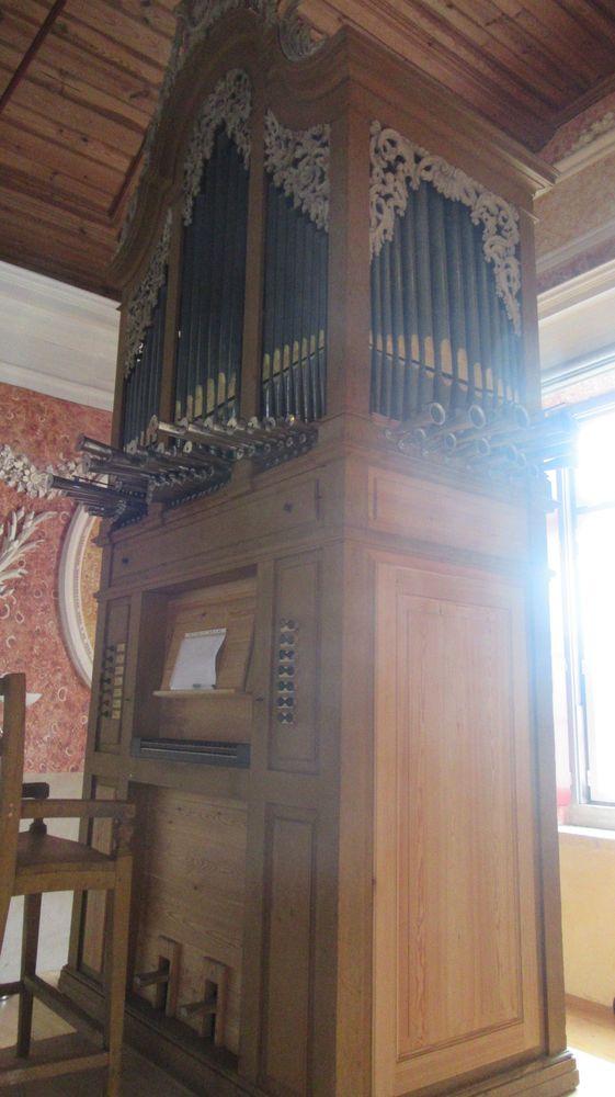 Igreja S M Alcáçova - órgão de tubos