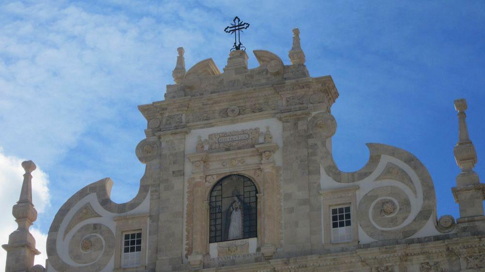 Nicho na fachada da Sé de Santarém