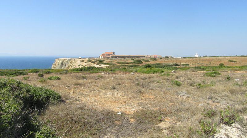 Santuário visto do Cabo Espichel