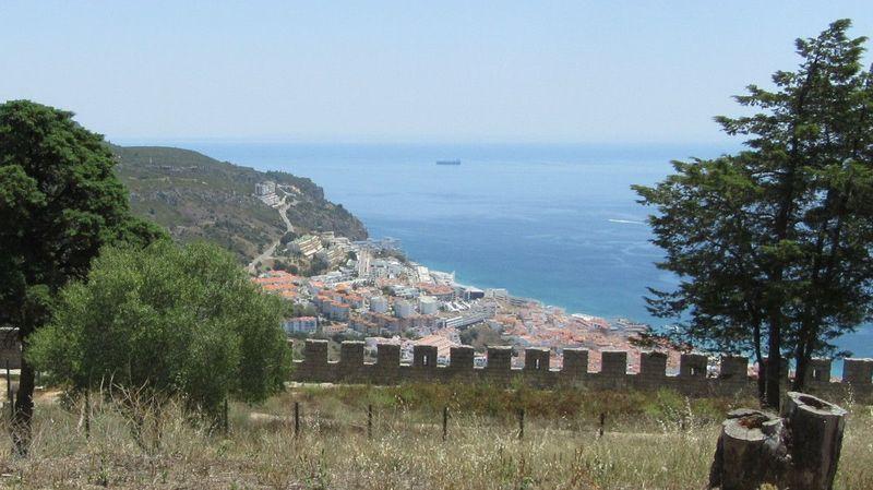 Vila vista do Castelo