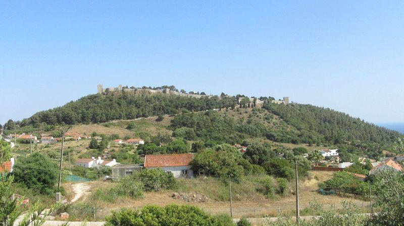 Castelo visto de oeste