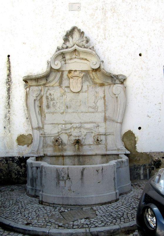 Fonte no Largo do Calvário