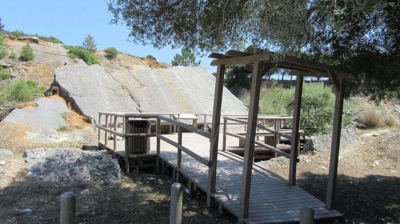 Jazida de Icnofosseis na Pedreira do Avelino