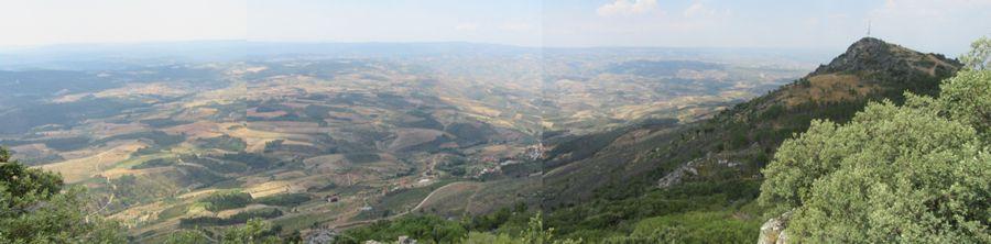 Santuário de Santa Comba - paisagem
