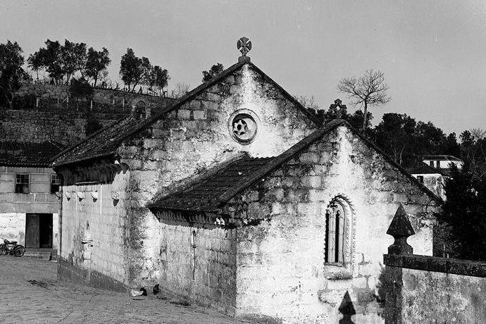 Igreja de Escamarão em 1944