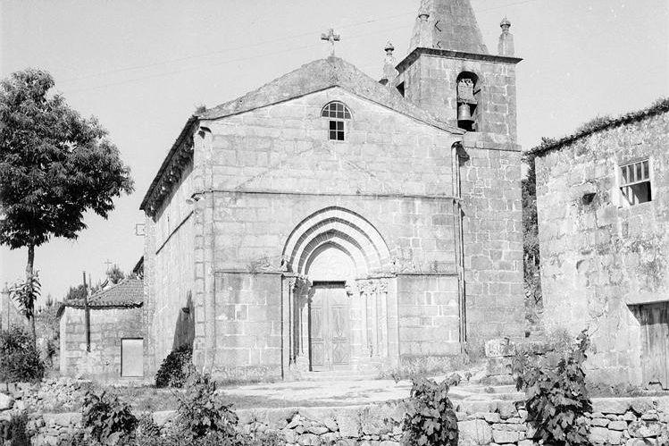 Igreja de Tarouquela, 1962